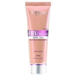 BB Cream 5 em 1 SPF20 30ml L'oréal Paris – Base – Médio