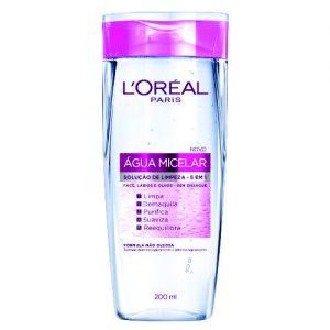 Água Micelar Solução de Limpeza Facial 5 em 1 L'Oréal Paris – 200ml