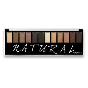 Paleta de Sombras 12 Cores Natural – Ruby Rose