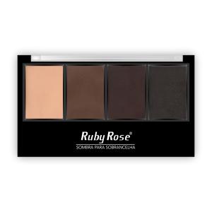 Quarteto de Sombra para Sobrancelha Ruby Rose