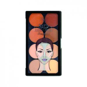 Rk By Kiss – Paleta De Contorno 3d – Contour Power Light Medium
