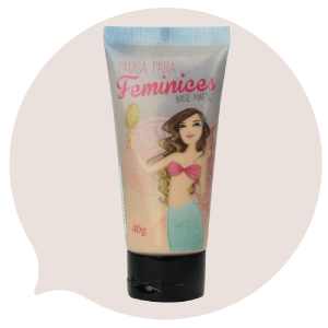 Pausa para Feminices Base Matte Oil Free 40g – Bruna Tavares 2