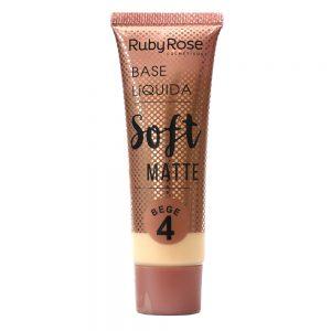 Base líquida soft matte bege 4 – Ruby Rose