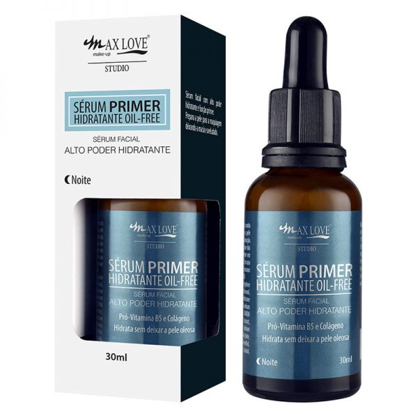 Sérum Primer Hidratante Oil-Free Noite