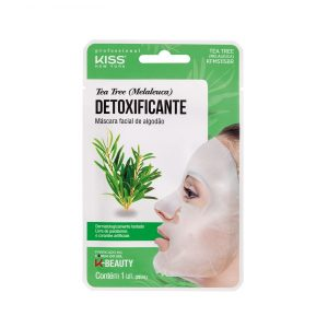 Máscara Facial de Algodão – Tea Tree (Melaleuca)