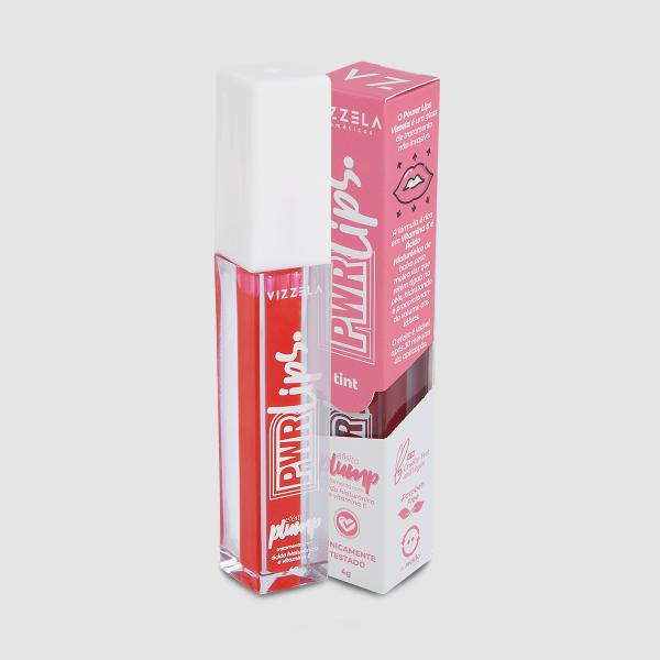 Power lips top coat Tint – Vizzela