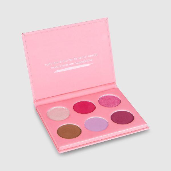 Paleta de sombras às quartas usamos rosa – Vizzela