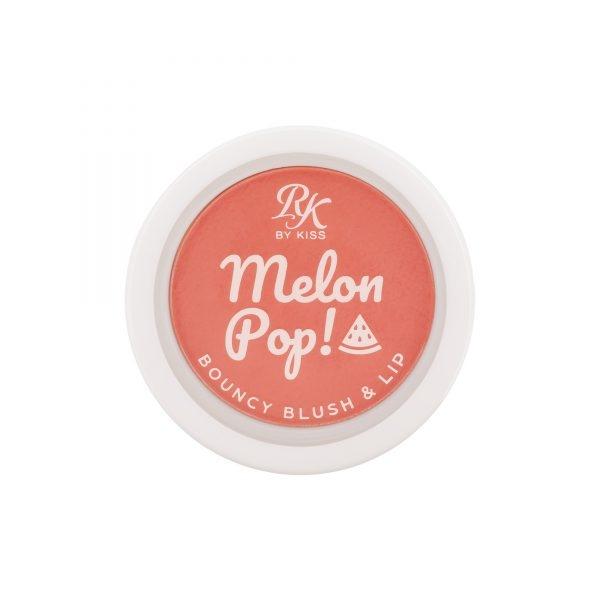 Melon Pop! Bouncy Blush & Lip Coral Pop Ruby Kisses